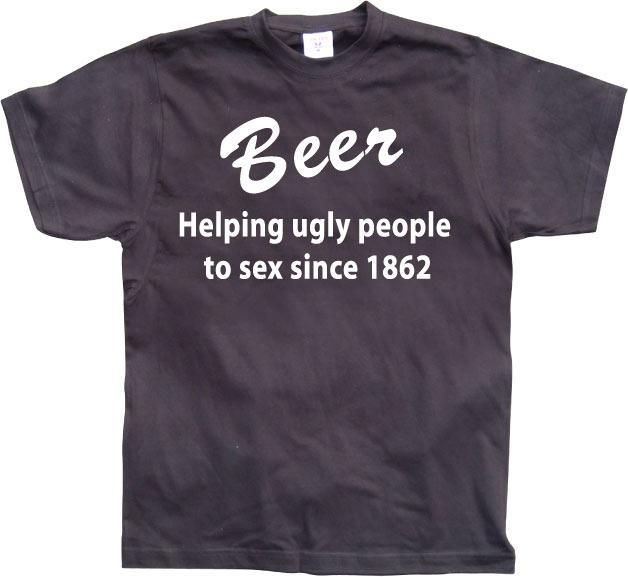 Beer, helping people....