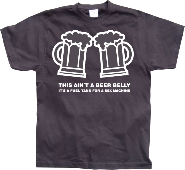 This aint a beer belly....