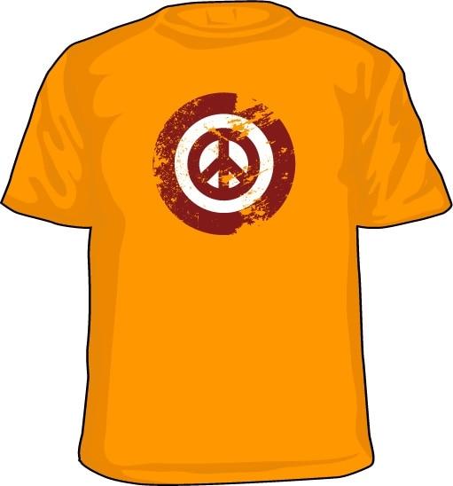 Peace Icon Grunge