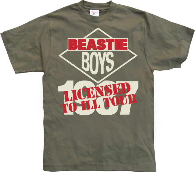 Beastie Boys - Licensed To Ill Tour
