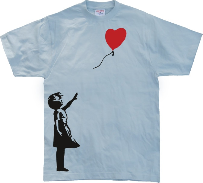 Girl With Balloon T-shirt