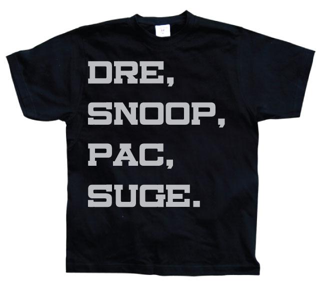 Dre, Snoop, Pac & Suge T-Shirt