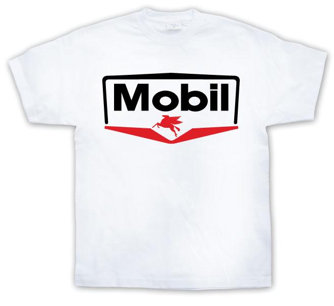 Mobil Logo T-Shirt