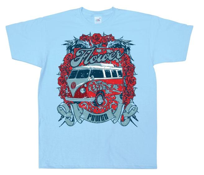Flower Power Van T-Shirt