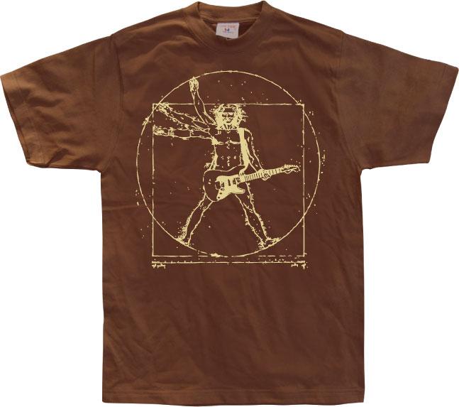 Da Vinci Rock Man T-Shirt