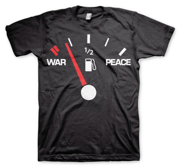 War & Peace Gauge T-Shirt