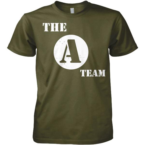 The A-Team Distressed Logo T-Shirt