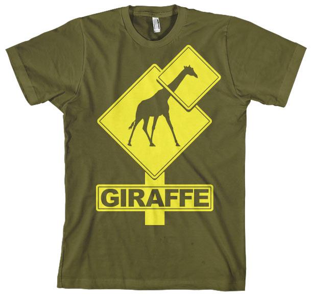 Giraffe Sign T-Shirt