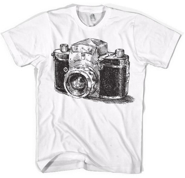 Camera Draft T-Shirt