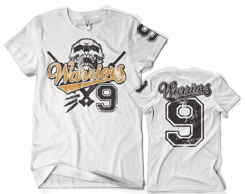 Warriors 9 Varsity T-Shirt
