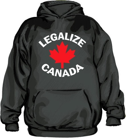 Legalize Canada Hoodie