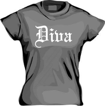 Diva Girly T-shirt