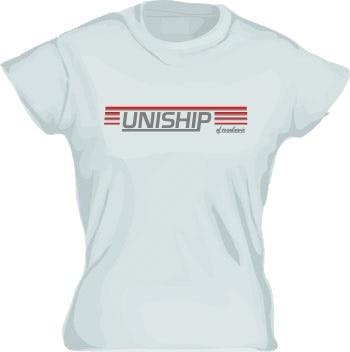 Uniship of Scandinavia Girly T-shirt