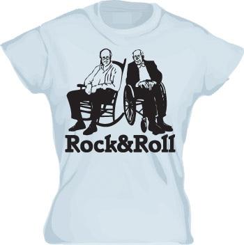 Rock & Roll Girly T-shirt