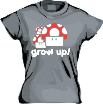 Grow Up Girly T-shirt