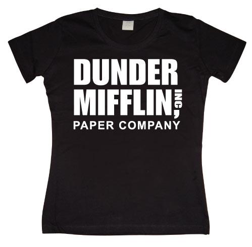 Dunder Mifflin Paper Co. Girly T-shirt
