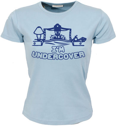 Im Undercover Girly T-shirt