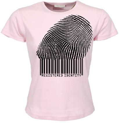 Registered Identity Girly T-shirt