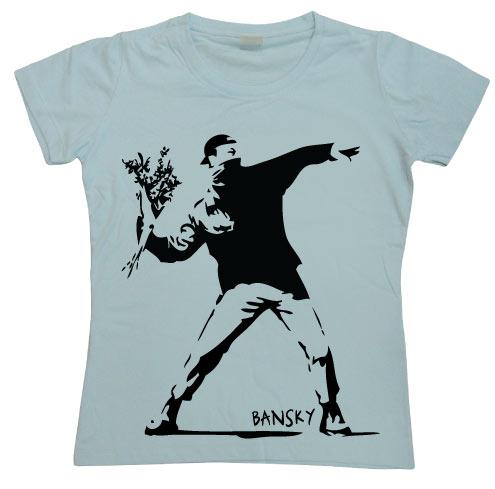 Banksy Girly T-shirt