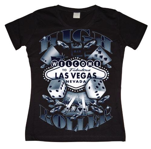 Las Vegas High Roller Girly T-shirt
