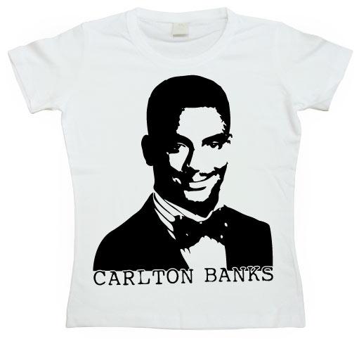 Carlton Banks Girly T-shirt