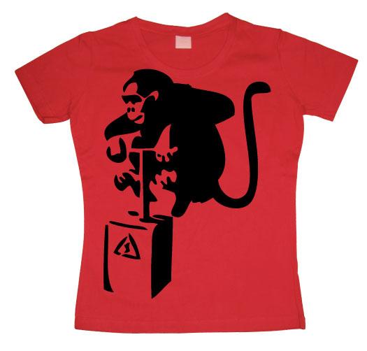 Detonator Monkey Girly T-shirt