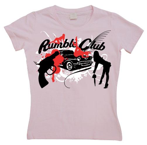 Rumble Club Girly T-shirt