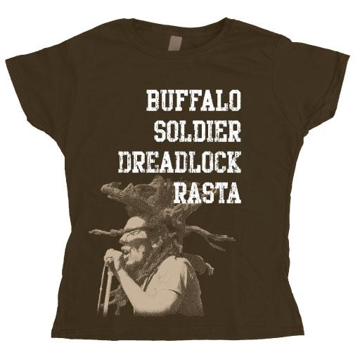 Buffalo Soldier Girly T- shirt
