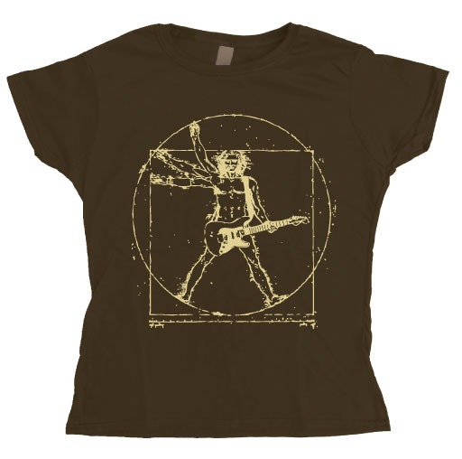 Da Vinci Rock Man Girly Tee