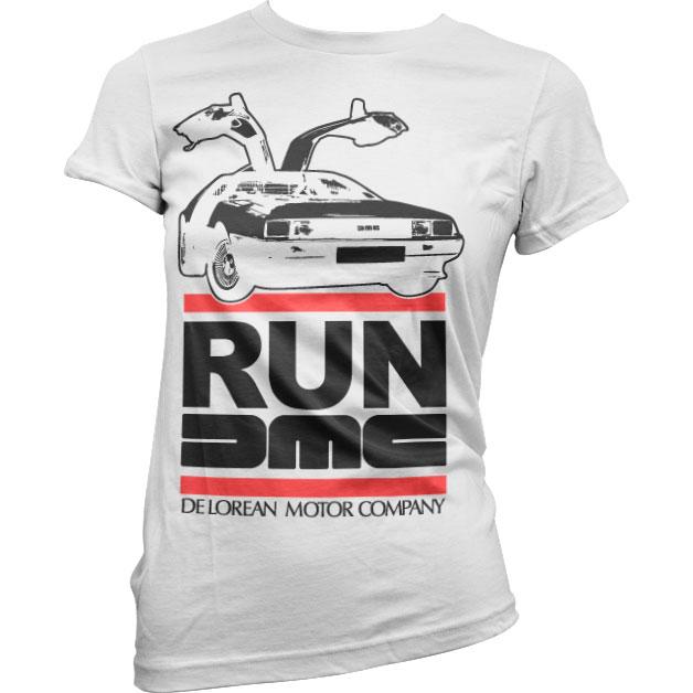 Run De Lorean Girly Tee