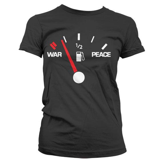 War & Peace Gauge Girly Tee