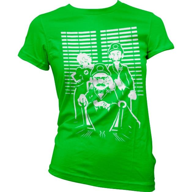 The Mario Family Girly T-Shirt
