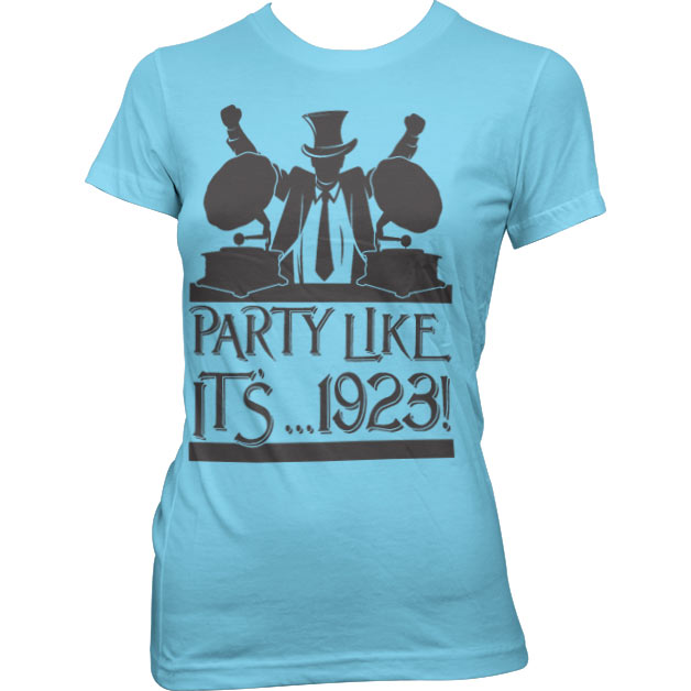 Party Like It´...1923! Girly T-Shirt