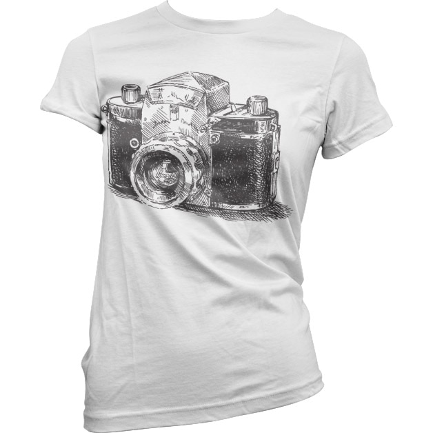 Camera Draft Girly T-Shirt