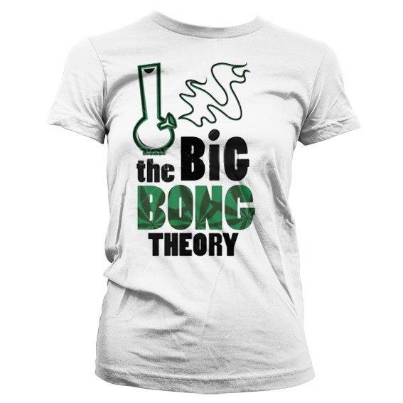 Big Bong Theory Girly T-Shirt