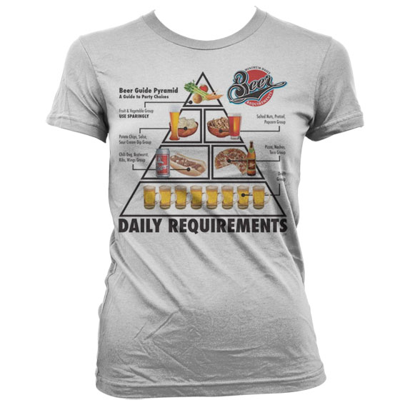 Daily Requirements Girly T-Shirt