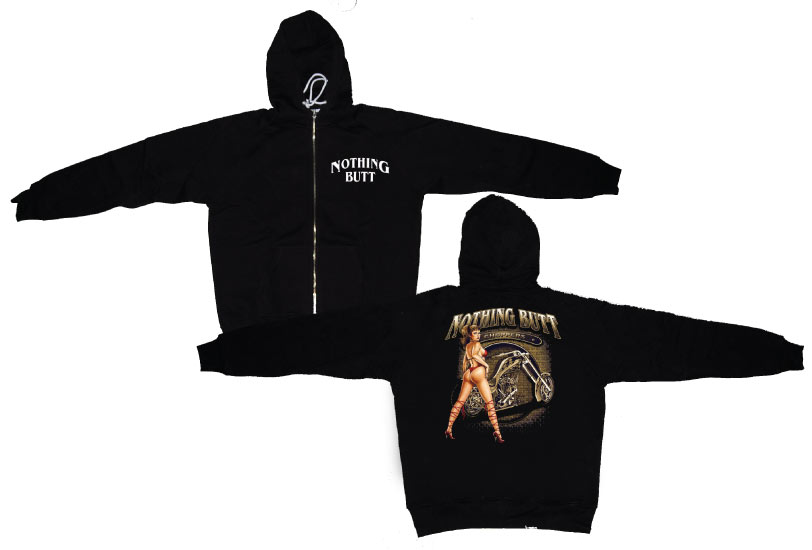 Nothing Butt Choppers Zipped Hoodie