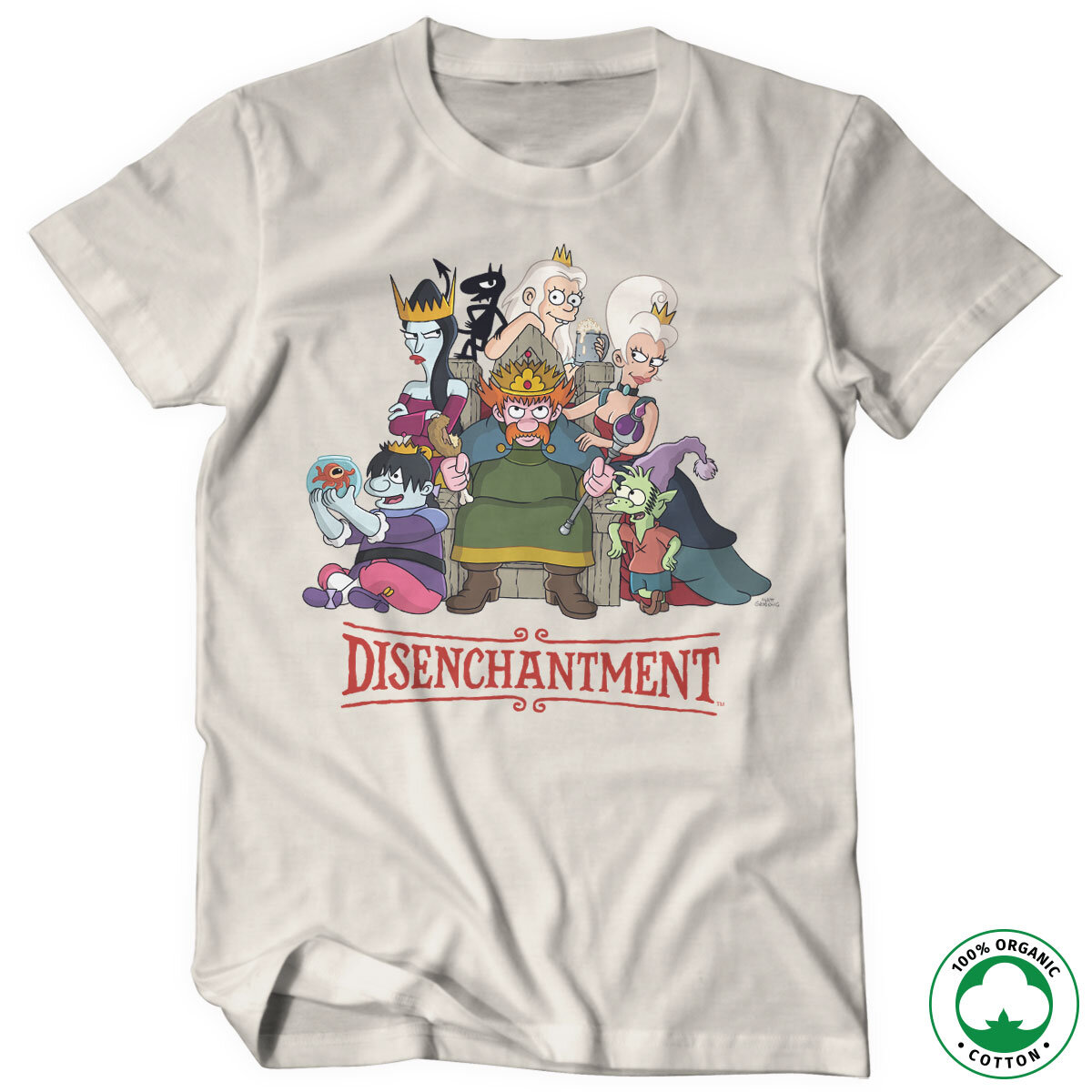 Disenchantment Organic Tee