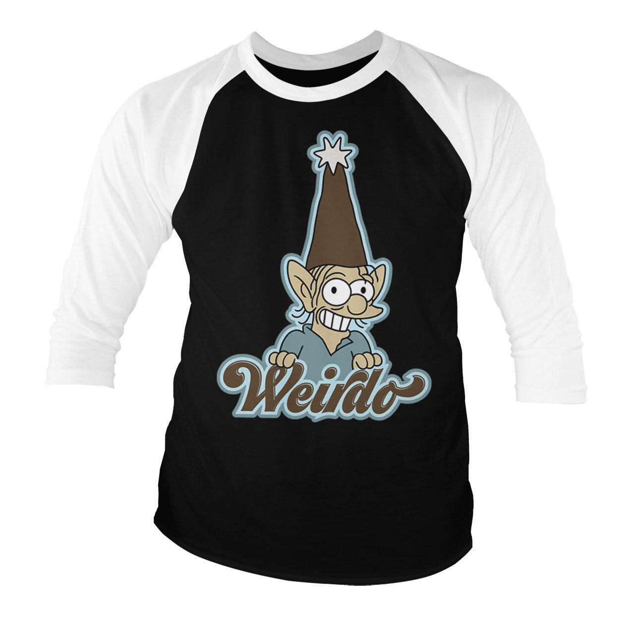 Weirdo Baseball 3/4 Sleeve Tee
