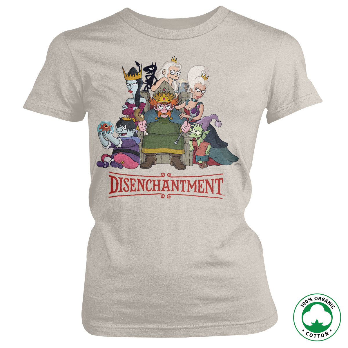 Disenchantment Organic Girly Tee