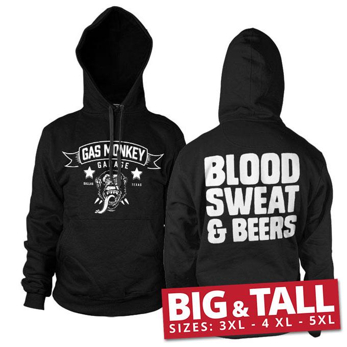 GMG - Blood, Sweat & Beers Big & Tall Hoodie