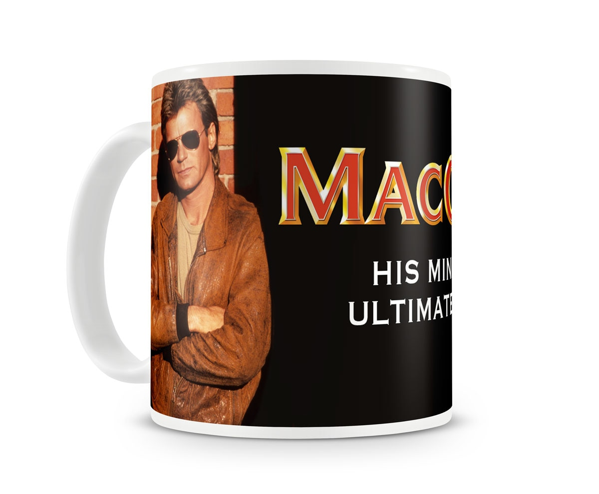 MacGyver Coffee Mug