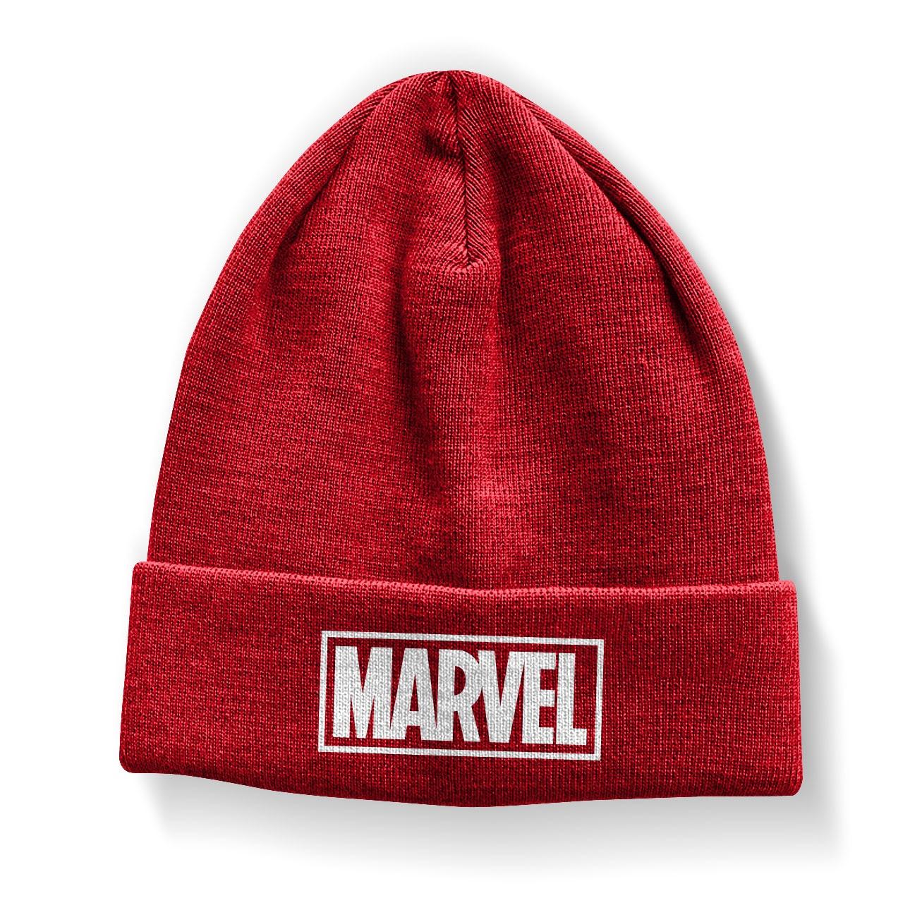 Marvel Red Logo Beanie