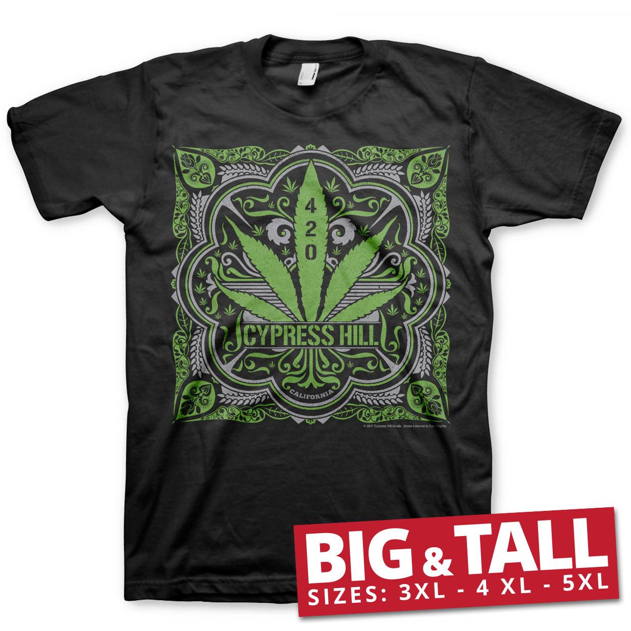 Cypress Hill - 420 Big & Tall T-Shirt