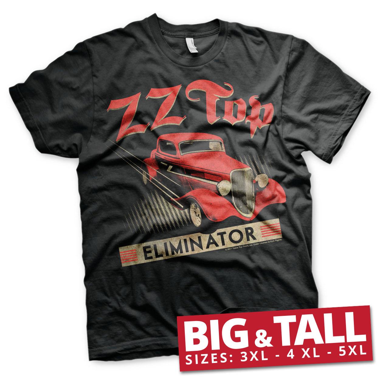 ZZ-Top Eliminator Big & Tall T-Shirt