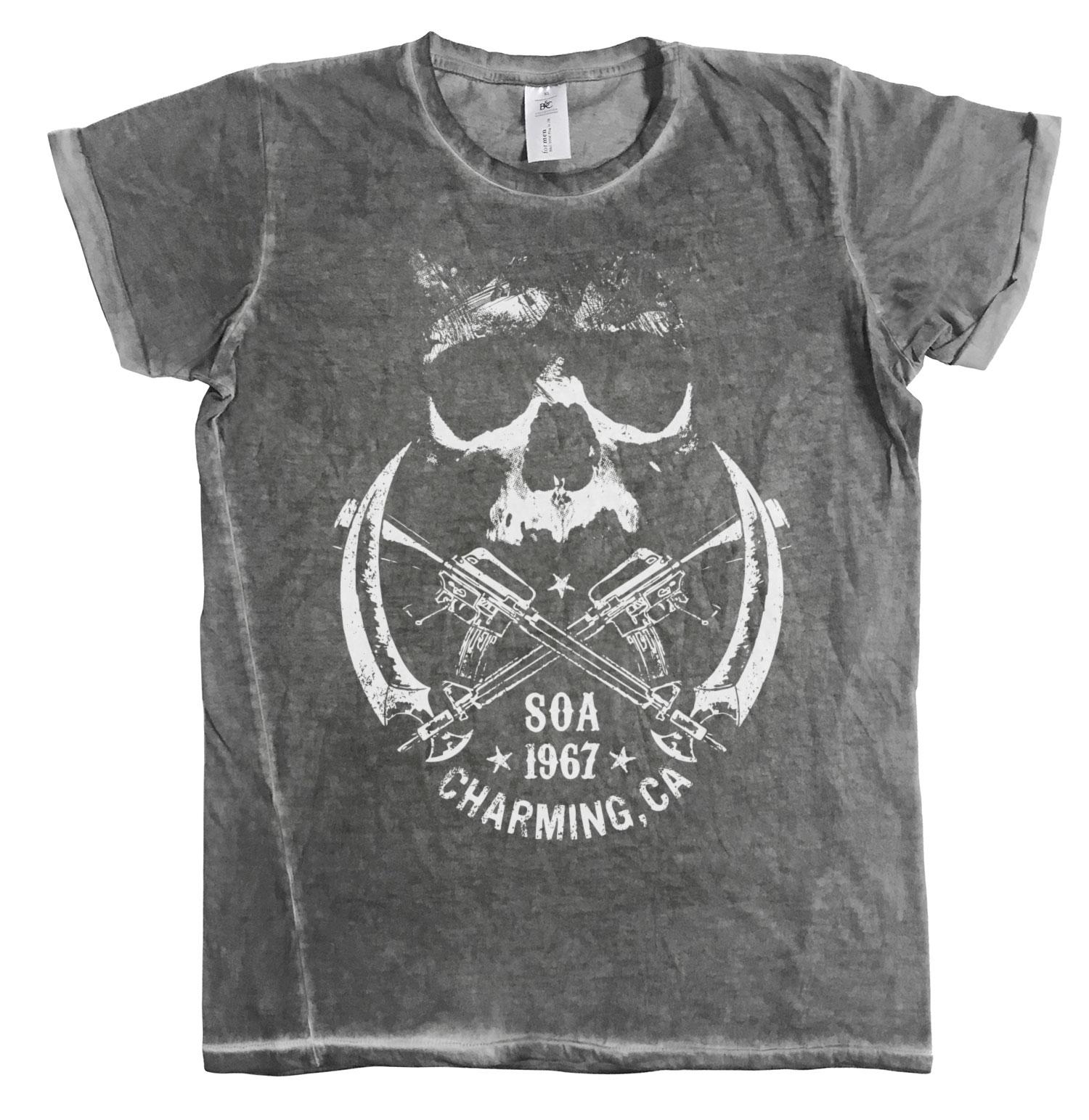 Sons Of Anarchy - SOA 1967 Skull Urban T-Shirt