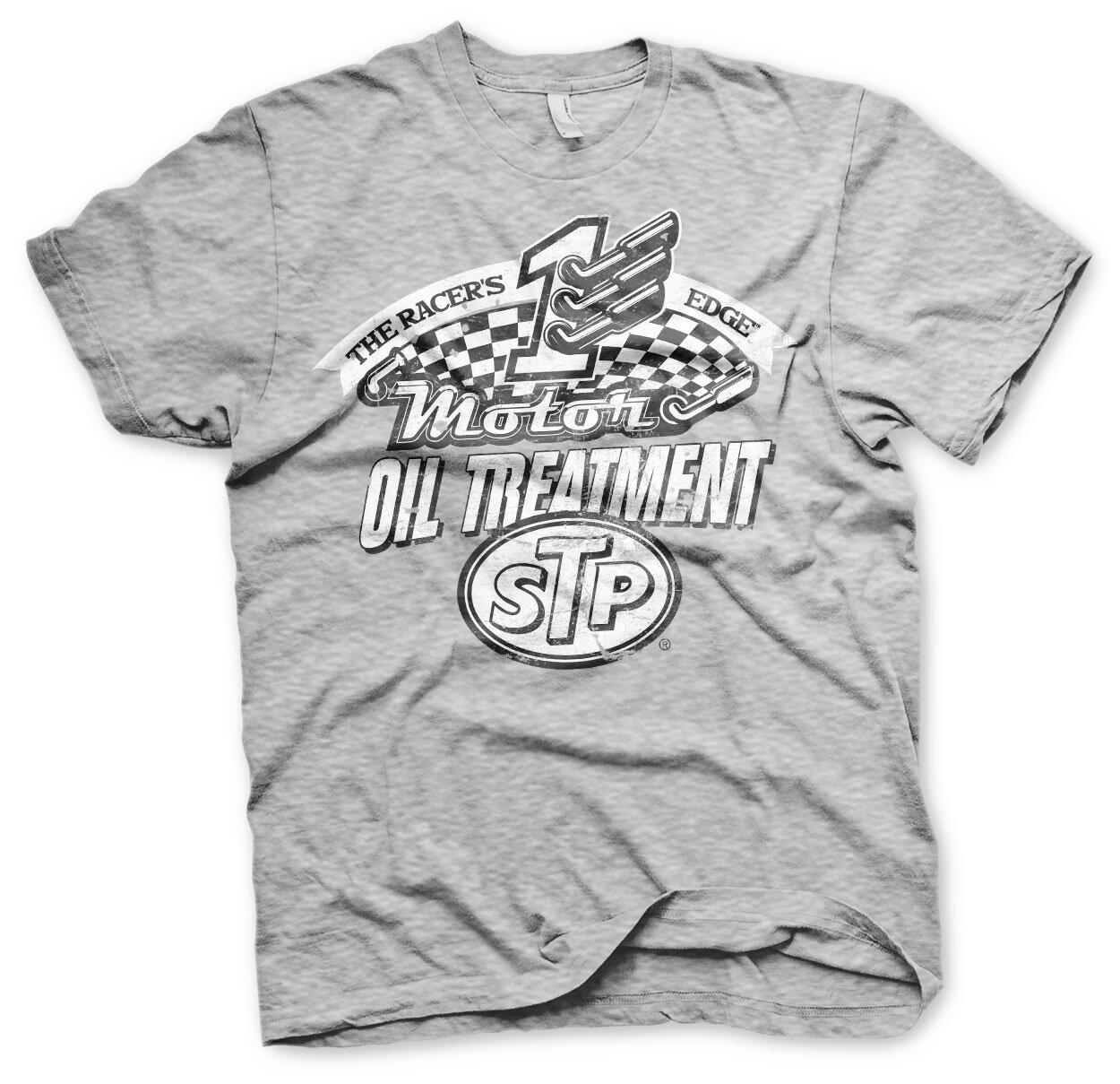 STP Oil Treatment Distressed T-Shirt