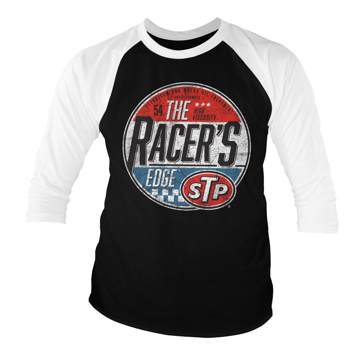 STP - The Racer's Edge Baseball 3/4 Sleeve Tee