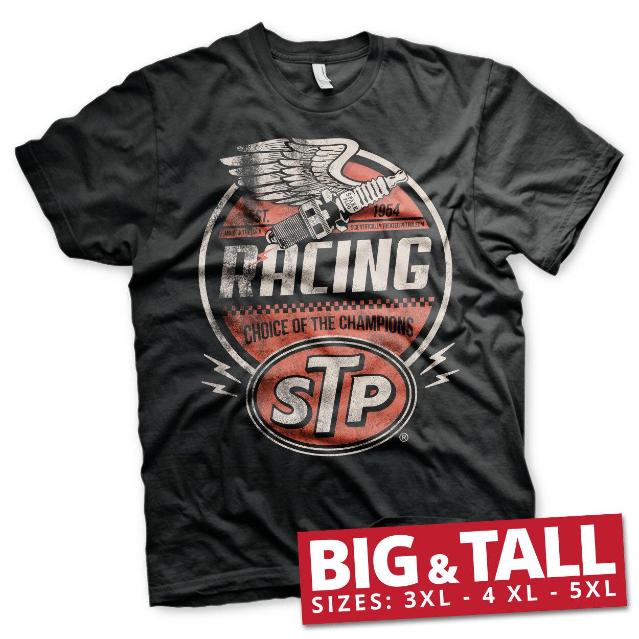STP Vintage Racing Big & Tall T-Shirt
