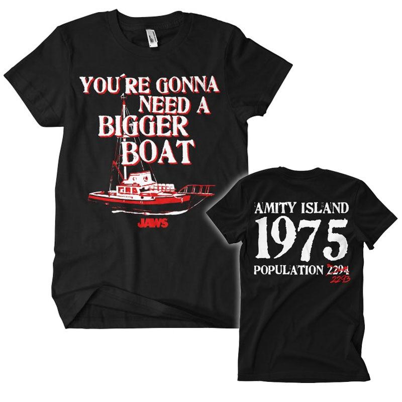 Jaws - Bigger Boat T-Shirt